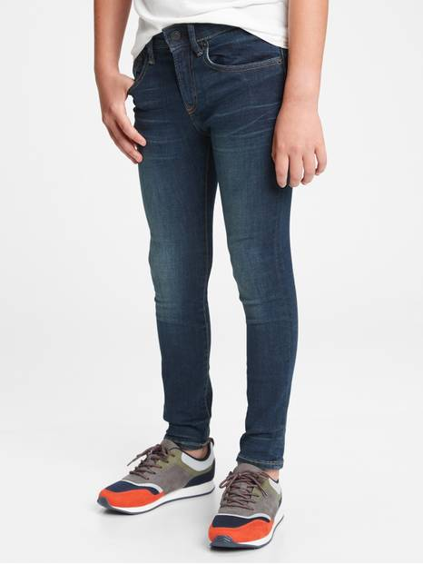 Kids Super Skinny Jeans with Max Stretch
