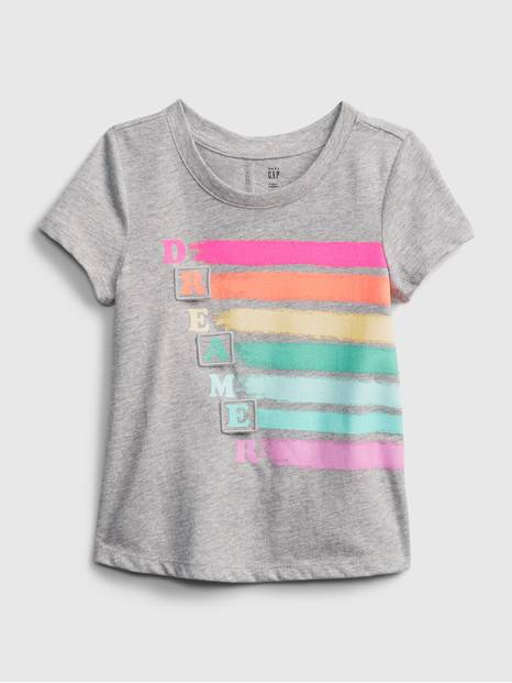 Toddler 3D Graphic T-Shirt