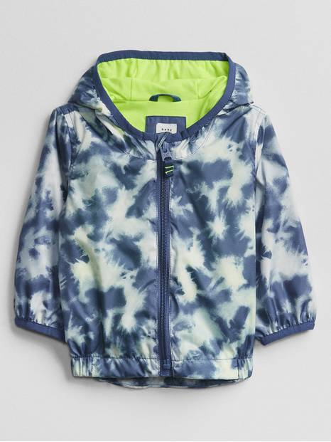 Baby Tie-Dye Windbuster