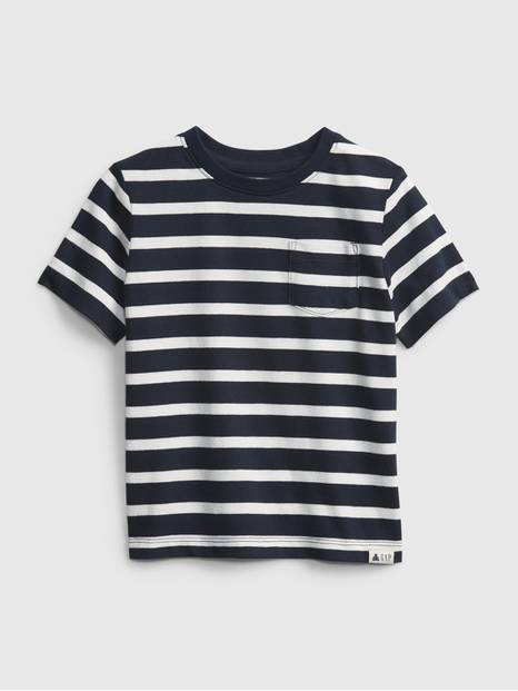 Toddler Organic Cotton Mix and Match Stripe T-Shirt
