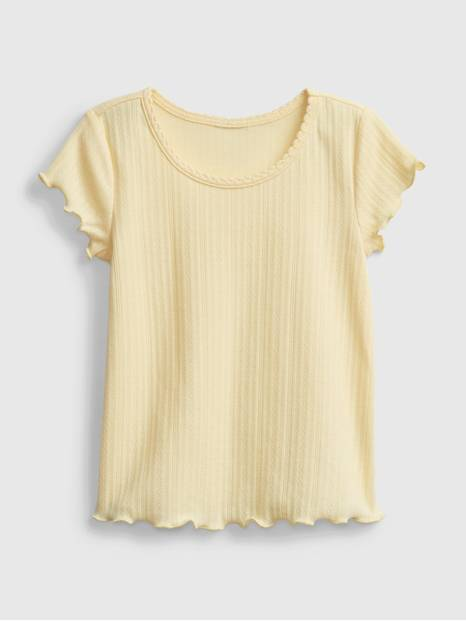 Toddler Scalloped T-Shirt