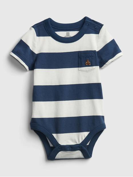 Baby Organic Cotton Mix and Match Stripe Bodysuit
