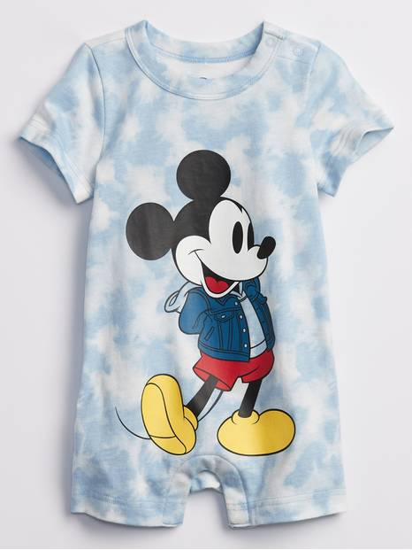 babyGap | Disney Mickey Tie-Dye Shorty One-Piece