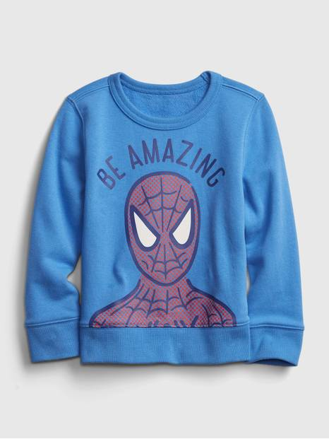 babyGap &#124 Marvel Spider-Man Crewneck Sweatshirt
