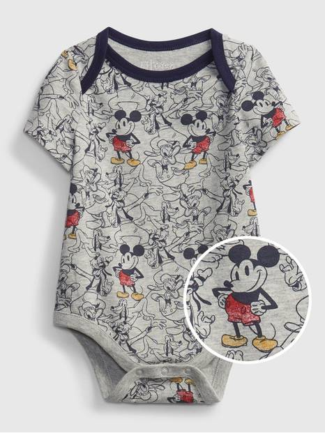 babyGap &#124 Disney Mickey Mouse Organic Cotton Mix and Match Bodysuit
