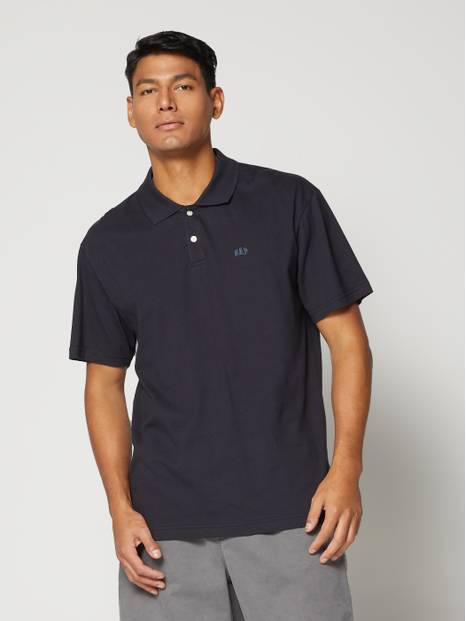 Logo Jersey Polo Shirt