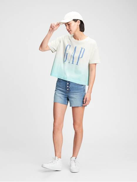 Gap Logo Boxy Short Sleeve T-Shirt