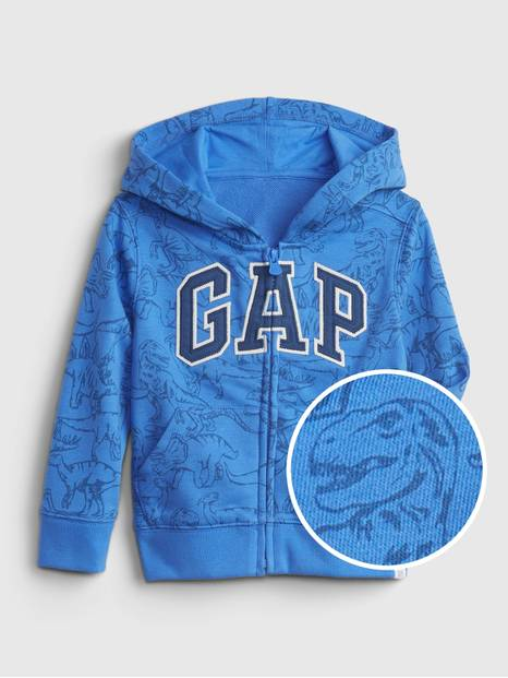 Toddler Gap Logo Dinosaur Graphic Hoodie