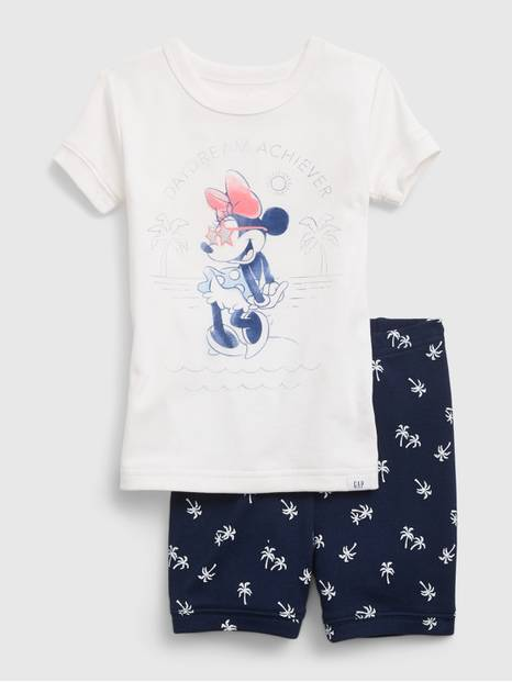 babyGap &#124 Disney Minnie Mouse 100% Organic Cotton PJ Set