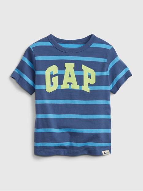 Toddler 100% Organic Cotton Mix and Match Gap Logo Stripe T-Shirt