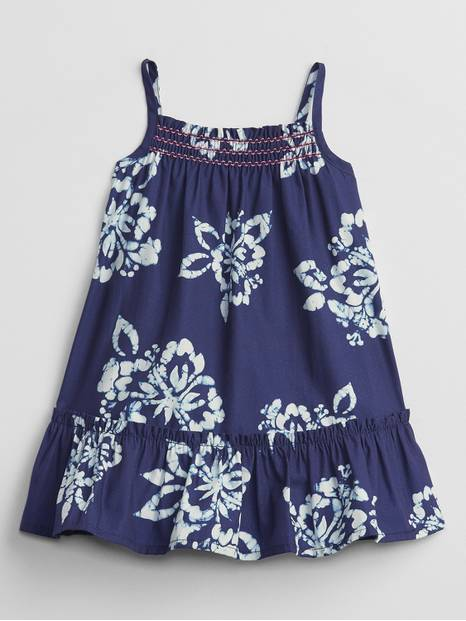 Baby Smocked Floral Dress